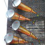 Antenne paraboliche, Birmingham, Regno Unito. Image credits: Davyd Samuels