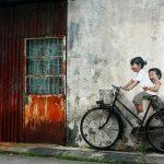 Bicicletta, George Town, Malesia. Image credits: Ernest Zacharevich
