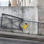 Bruce Lee, Saint Etienne, Francia. Image credits: Oak Oak