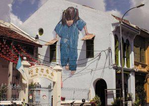Ragazza, George Town. Malesia. Image credits: Ernest Zacharevich