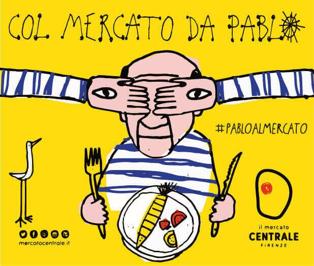 Pablo al Mercato, Picasso a Firenze