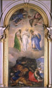 La Trasfigurazione, 1555-56. Duomo di Montagnana, Padova