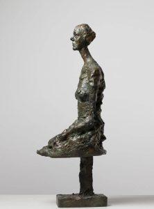 Annette seduta 1958. Collezione Fondation Giacometti, Parigi