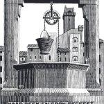 Cornelis Escher. Campana di San Gimignano Piazza della Cisterna
