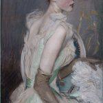 Giovanni Boldini. La contessa de Leusse, c. 1889 - 90, olio su tela, cm. 200,5 x 101