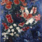 Marc Chagall. Gli Amanti, 1937. Olio su tela, cm. 108 x 85. Donato da Charles Bronfman dalla tenuta di Sayde Bronfman