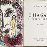 Marc Chagall. Litografia di Chagall , 1957-1962, da Fernand Mourlot con 11 litografie a colori. André Sauret editore, Monte Carlo, 1963, cm. 32,7 x 50. La Vera e Henry Mottek Collection, un dono per lo Stato di Museo di Israele, Gerusalemme