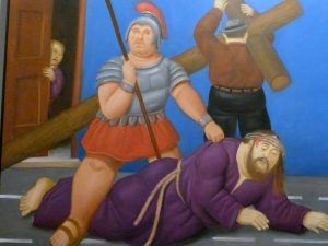 Gesù cade per la prima volta. 2011