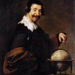 Velásquez. Democrito, 1628-1629. Olio su tela, cm. 101x81. Musée des Beaux-Arts, Rouen Francia