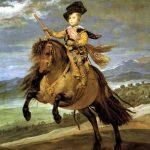 Velásquez. Il principe Baltasar Carlos a cavallo, 1635. Olio su tela, cm. 209 x173. Museo del Prado, Madrid