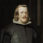 Velásquez. Ritratto di Filippo IV, 1655. Olio su tela, cm. 69 × 56. Museo del Prado, Madrid