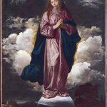 Velásquez. Immacolata Concezione, 1618, olio su tela, cm. 102 x 135. National Gallery, Londra