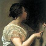 Velásquez. Sibilla con Tabula Rasa,1648. Olio su tela, cm. 64 × 58. Meadows Museum, Dallas, Texas