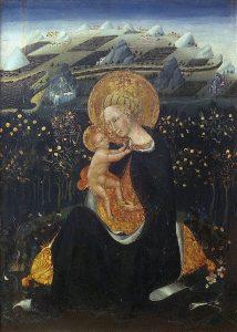 Siena. Giovanni di Paolo. La vergine dell'umiltà