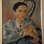 Guttuso. Ritratto di Mario D'Anca, 1937. Enna, Biblioteca Comunale