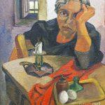 Guttuso. Ritratto della madre dell'artista Giuseppina d'Amico, 1940