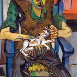 Gutuso. Il pittore Turcato con il gatto Molotov, 1946