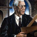 Gutuso. Ritratto del padre, il Cavalier Gioacchino Guttuso Fasulo, 1930. Olio su tavola. Museo d'arte contemporanea Renato Guttuso, Bagheria
