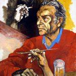 Guttuso. Autoritratto, 1975
