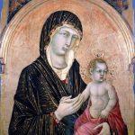 Siena. Vergine col bambino