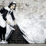 Banksy - Maid Chalk Farm, Londra
