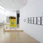 Jen Michel Basquiat. Veduta della mostra