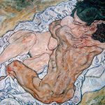 Egon Schiele. L'abbraccio, 1917