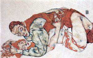 Egon Schiele. Studio dell'atto d'amore
