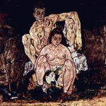Egon Schiele.La Famiglia, 1918