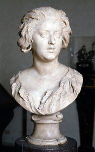 Gian Lorenzo Bernini, Ritratto di Costanza Buonarelli, circa 1635. Museo Nazionale del Bargello, Firenze. S.S.P.S.A.E e per il Polo Museale della città di Firenze - Gabinetto Fotografico