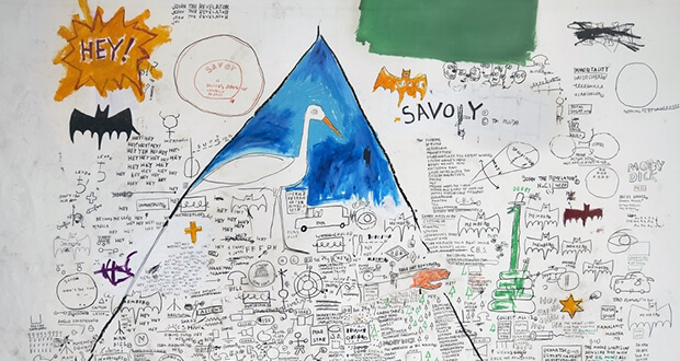 Jean Michel Basquiat. Senza titolo, 1986 (dettaglio)