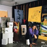 Jean Michel basquiat. Foto di Tseng Kwong Chi