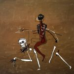 Jean Michel Basquiat. Cavalcando con la morte, 1988