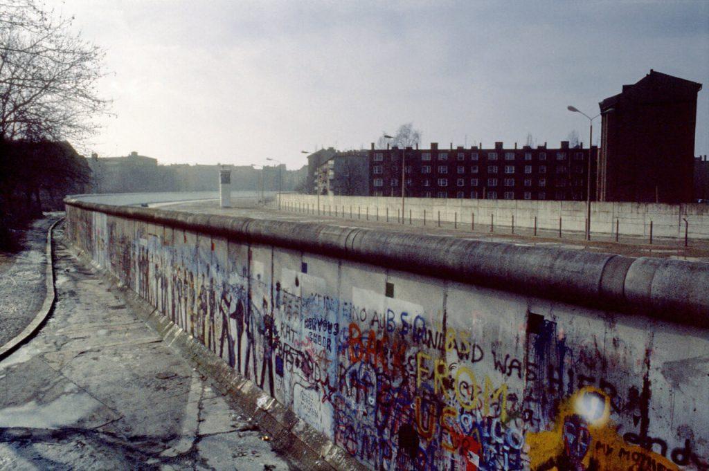 Torre di guardia - Muro di Berlino, Kreuzberg - Marzo 1986