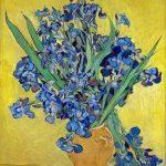 Vincent van Gogh. Iris. Olio su tela, cm. 92.7 x 73.9. Van Gogh Museum, Amsterdam (Vincent van Gogh Foundation)