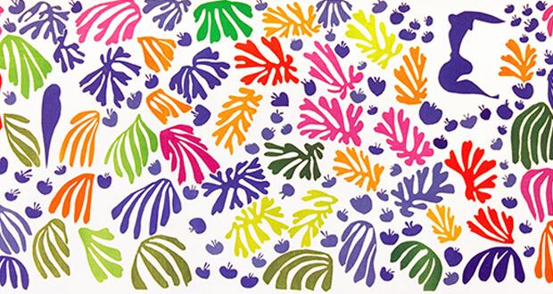 Henri Matisse. Henri Matisse. Il pappagallo e la sirena, 1952 (dettaglio)