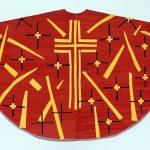 Henri Matisse. Moquette per la Pianeta rossa (anteriore). Cappella del Rosario di Vence, 1950-1952. Guazzo su carta, tagliato e incollato, cm. 128,2 x 199,4. Museo d'Arte Moderna, MoMA, New York. © 2014. Pictoright Amsterdam, 2014
