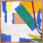 Henri Matisse. Memoria di Oceania, 1952 - 1953. Guazzo su carta, tagliato e incollato su tela, cm. 284,4 x 286,4, © c / o Pictoright Amsterdam, 2014