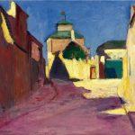 Henri Matisse, Una strada in Arceuil, 1898. Olio su tela, cm. 46 x 55. Collezione privata, New York
