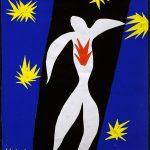 Henri Matisse. Henri Matisse. La caduta di Icaro, 1943. Guazzo su carta, tagliato e incollato su carta, cm. 36 x 26,5. Collezione privata. ©, c / o Pictoright Amsterdam 2014. Foto Alberto Ricci
