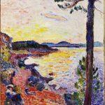 Il tè del pomeriggio (La baia di Saint-Tropez), 1904. Olio su tela, cm. 65 x 50,5. c / o Pictoright Amsterdam, 2014