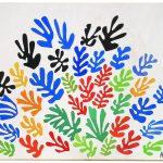 Henri Matisse. Il Covone, 1953. Guazzo su carta, tagliato e incollato, montata su telacm. 293,4 x 350,5, © c / o Pictoright Amsterdam, 2014