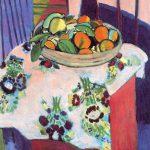 Henri Matisse. Cesto con le arance, 1912. Olio su tela, cm. 94 x 83. Donazione Picasso. Museo Nazionale Picasso, Parigi