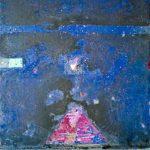 Tracce di contemporaneo. Alessandro Savelli. Notte Anavi, Yukatan, 2009. Tecnica mista su tela. Credits: Collezione privata