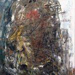 Tracce di contemporaneo. Alfredo Chighine. Composizione vulcanica, 1957 olio su tela. Credits: Collezione privata