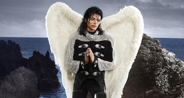 David LaChapelle. Archangel Michael, (dettaglio)