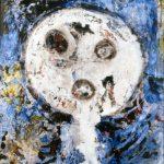 Tracce di contemporaneo. Enrico Baj. Forma cranica, 1952. Olio e smalto su tela