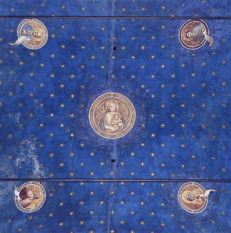 Giotto. Volta stellata, 1303-1305. Cappella degli Scrovegni, Padova