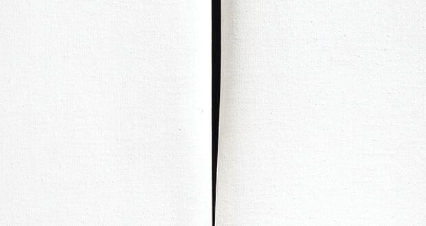 Lucio Fontana. Concetto spaziale, attesa, 1967/68 (dettaglio)
