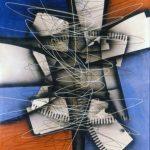 Tracce di contemporaneo. Roberto Crippa. Senza titolo, 1952 olio su tela. Credits: Collezione privata